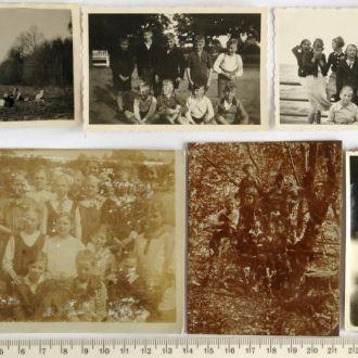 Старые фото 11 шт, нач-сер. ХХ в, Германия