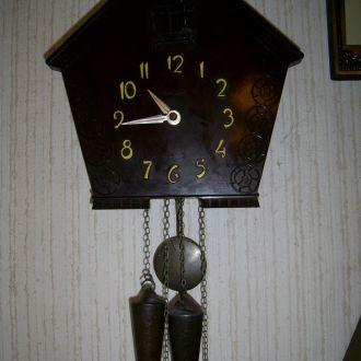 Часы настенные с боем, кукушка, ходики СССР