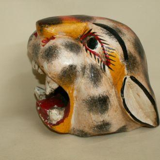 Резная маска Леопард