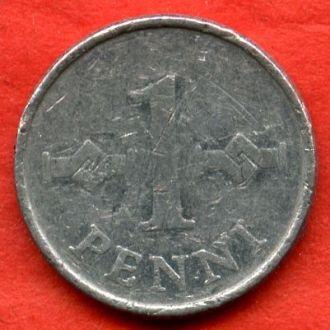 1 пенни 1972