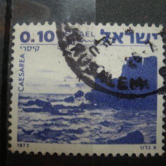 Израиль.1977г. Море, скалы. Природа.
