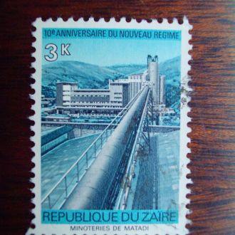 Заир (Конго).1975г. Промышленность.