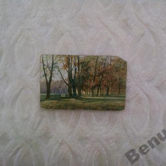Карточка старая. Германия живопись