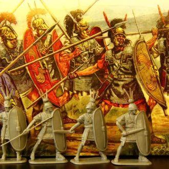 "римская тяжелая пехота""HAT""54мм(№9017)"