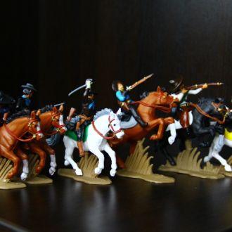 мексиканские бандиты  (Britains Deetail DSG) 54мм