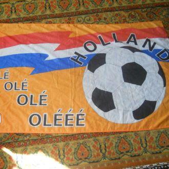 Флаг фанатов футбола Голландии.