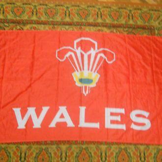 Флаг фанатов спортивного клуба Англии.