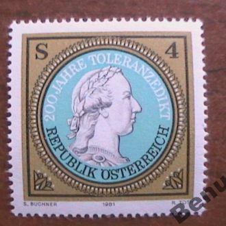 Австрия 1981 хх