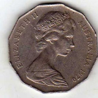 Австралия 50ц. 1970г