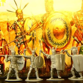 """римская пехота 54мм""""HAT""""(№9040)"""