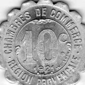 Франция 5,10 и 25сен.1921г
