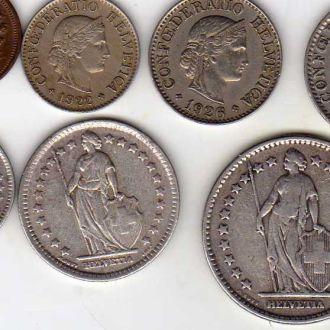 Швейцария 1908-37гг
