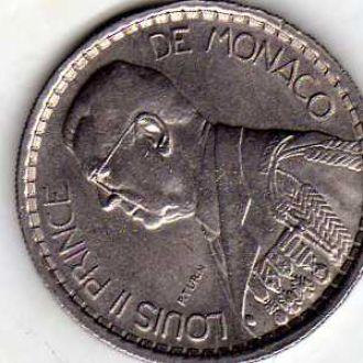 Монако 10 фр 1946