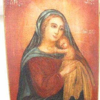 """Икона """"Богородица с младенцем"""""""