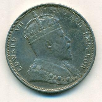 1$ Стрейтс Сетлментс 1903г. Эдуард VII