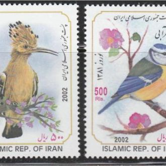 Иран 2002 ПТИЦЫ ФАУНА 4м** Mi.2879-82 =EUR 7.- !!!
