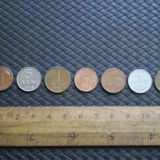 Монеты мира 7 шт.Мини.