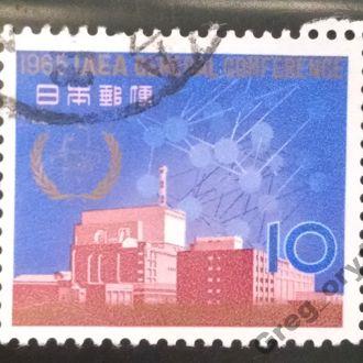 марки Япония архитектура 1965г с 1 гривны