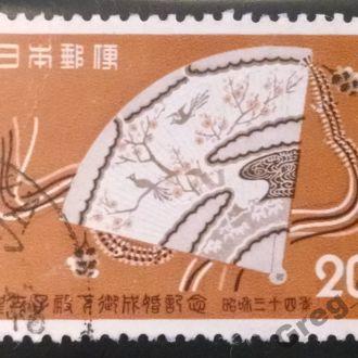 марки Япония искусство с 1 гривны