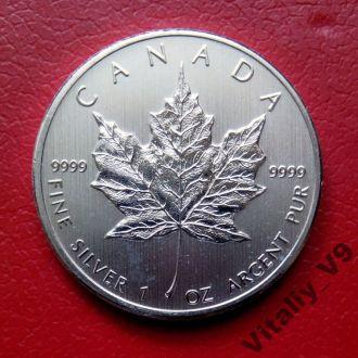 Канада. Кленовый лист. 5 долларов. 2012