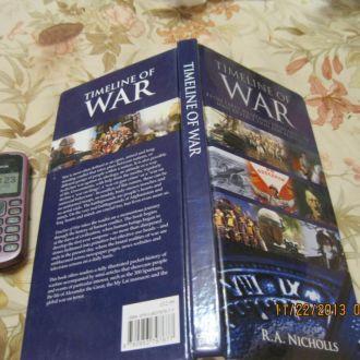 на английском языке книга война NICHOLLS альбом