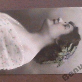 Венгрия открытка франкировка 1908 г.