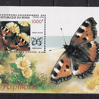 Фауна . Бабочки. Бенин