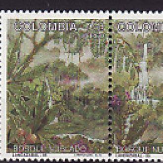 Флора.  Колумбия   1995г