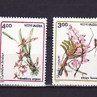 Флора . Орхидеи. Индия
