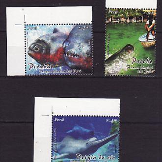 Фауна.Рыбы. Перу  2004г