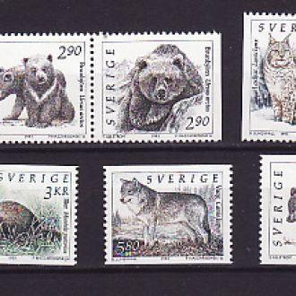Фауна. Швеция 1993г