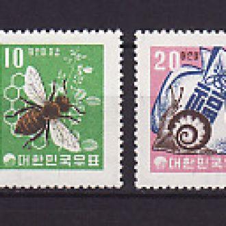 Фауна. Пчелы. Корея Южная