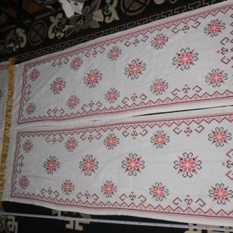 штори вишитi вишивка комплект шторы (№470)