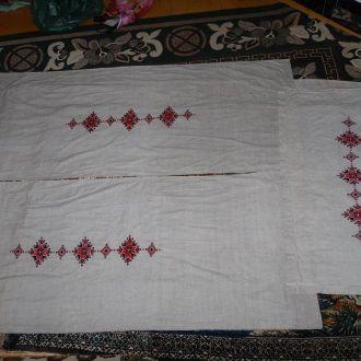 штори вишитi, як новi вишивка шторы (№475)