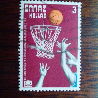 Греция.1979г. ЧЕ по баскетболу. Полная серия.