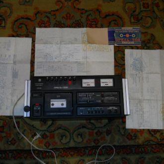 Магнитофон - приставка ОРЕЛЬ-306+документы.