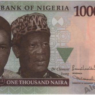 Нигерия 1000 найра 2011 г. в UNC