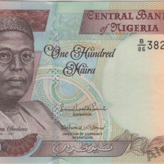 Нигерия 100 найра 2014 г. в UNC