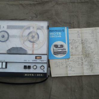 Магнитофон - приставка НОТА - 304.