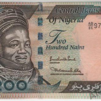 Нигерия 200 найра 2010 г. в UNC