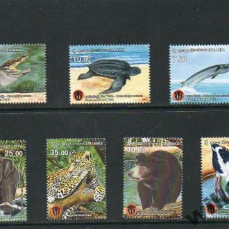 2015 ШРИ ЛАНКА - рыба, кит, птицы, фауна