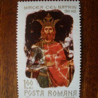 Румыния.1968г. Фреска. Полная серия. MNH