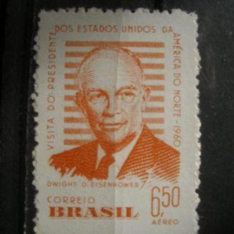 Бразилия.1960г. Президент США. Полная серия. МNН