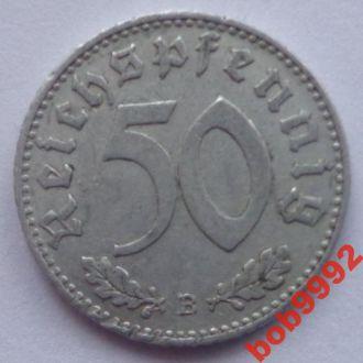 50 пфенингов 1943 В  г