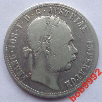 1 флорин 1875  г