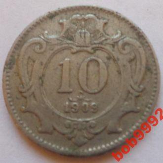 10 филлеров 1909 г