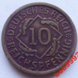 10 пфенингов 1929  г  A