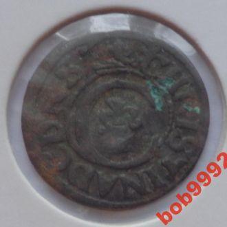 Солид . Сучавский 3 ( имит Кристины 1634 - 54 гг )
