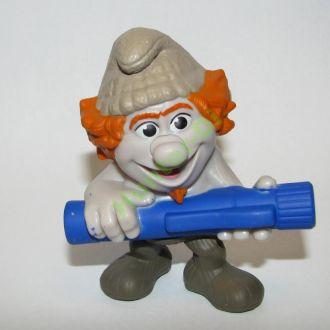 Игрушки из Mc Donalds Хеппи Мил Смурфики