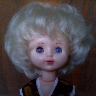 Кукла СССР Куйбышев полный пластик резинки 46 см